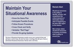 situational awareness safety - Google Search