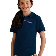Logo embroidered Jerzees youth polos and Hanes youth polo shirts are ideal promotional apparel to offer your staff or clients. EZ Corporate Clothing also carries youth polo shirts by Port Authority and Gildan. Ask us about youth 50-50 Ecosmart Jersey knit polo shirts with SpotShield, or ultra blend youth polos, pique knit youth polos, silk touch long sleeve youth polos, cotton pique polo shirts and more.