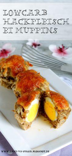 Super saftige Lowcarb Hackflesich Ei Muffins Eine tolle Idee für Berufstätige…
