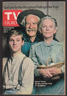 Vintage TV Guide Covers | Walton's TV guide cover