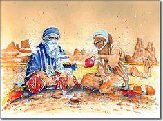 Grand sud algérien - Peintures du sahara