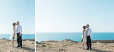 portrait of a couple with seaview Rethymno