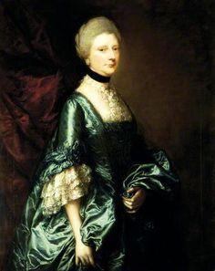Harriet, Viscountess Tracy by Thomas Gainsborough