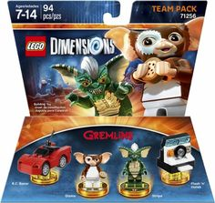 LEGO Dimensions - Gremlins™ Team Pack - Front Zoom