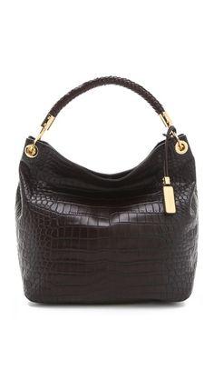 58fe228a2b4f Michael Kors Collection Skorpios Large Shoulder Bag