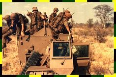 First leg off! Troops, Soldiers, Army Vehicles, Armored Vehicles, Once Were Warriors, Military Archives, South African Air Force, World Conflicts, Army Day