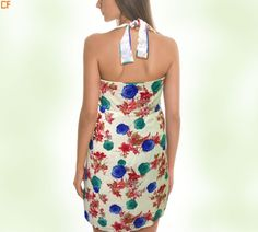 Halter necks are getting pretty trendy this season Grab yours from http://www.droomfashion.com/ #HalterNeck #Mini #Backless