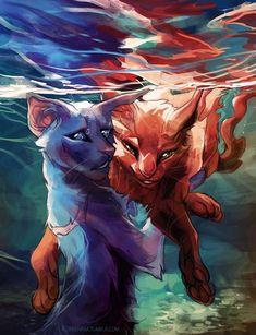 d19aca6fa4fea961abad7cde7cdcbc86--warrior-cats-cat-art.jpg (690×900)