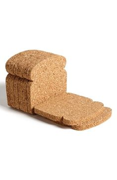 The best thing since sliced bread. Toasted coasters.