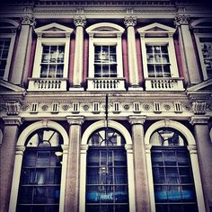 Cornhill frontage - The City - London