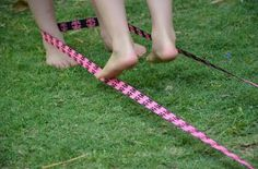 It's time to bring the memories back and start teaching your children the wonderful Elastics Game (also known as Chinese Jump Rope or French Skipping). This great game is played around the world by kids everywhere; playground/back yard and on the street a Pe Games, Yard Games, School Games, School Fun, Games For Girls, Toys For Girls, Chinese Jump Rope, Old Fashioned Games, Playground Games