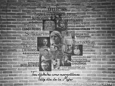 Homenaje a grandes mujeres de la historia de la Humanidad. Diseños e Impresiones Peña #dimpena #valparaiso #chile