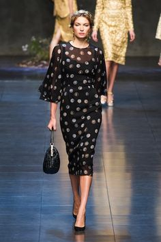 Dolce and Gabbana Spring 2014