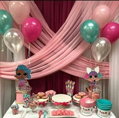 Lol Surprise Birthday Party. Lol Surprise Dolls. Lol Surprise Table Settings. Lol Surprise Backdrop.