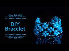 How to make beaded bracelet | DIY bracelet | Beautiful bracelet making | Bracelet tutorial - YouTube