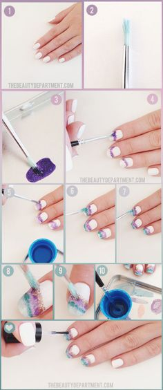 Are you searching for new nail designs for short nails? Have a look at these 60 latest simple, but very cute nail art tutorials for your short nails. Short Nail Designs, Simple Nail Designs, Nail Art Designs, Spring Nail Art, Spring Nails, Love Nails, Pretty Nails, Nail Art Vernis, Nails Decoradas