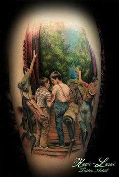 Stand By Me Tattoo