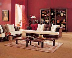 traditional-unique-ancient-red-living-room-design-wooden-bookshelves-bench-decorative-carpet