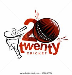 Vector Art Work: Twenty 20 International cricket logo