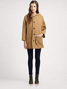 A.P.C. - Oversized Hooded Coat