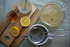 A Soothing Cup of Honey Lemon Ginger Tea for Whatever Ails You: Honey Lemon Ginger Tea
