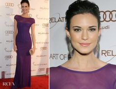 Odette Annable--never heard of her, but her face and dress are lovely