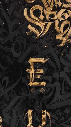 Arte Lowrider, Street Art, Arabic Calligraphy Art, Graphic Wallpaper, Graffiti Lettering, Art Logo, Amazing Art, Art Nouveau, Art Drawings