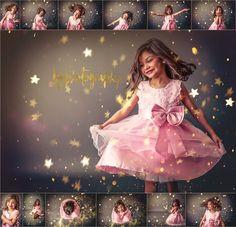 Glitter minis the LGP way! Children Photography, Photography Poses, Family Photography, Glitter Photography, Baby Girl Pictures, Girl Photos, Glitter Photo Shoots, Kids Studio, Princess Photo