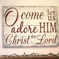 rustic wood christmas signs - Google Search