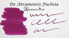 De Atramentis Fuchsia Ink (35ml Bottle) Fountain Pen Ink