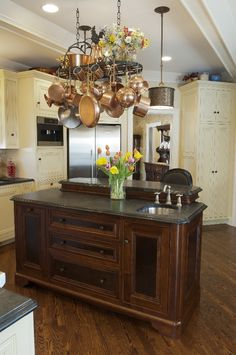 Delicieux Custom Kitchen Cabinets By Parrish Cabinets. Island Features Cove Dupont  Edges. Distribution Outside Pinterest