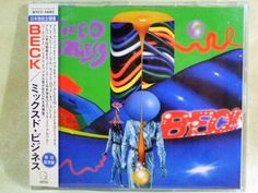 CD/Japan- BECK Mixed Bizness 7trx EP w/OBI RARE Japan Only remix/non-album trx #AlternativeRock