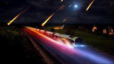 Asteroid train