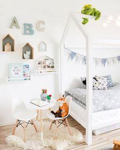 Morgen geht endlich der Blogpost zu unserem Kinderzimmer-Projekt online :) #home #kids #kidsroom #kinderzimmer #interior #kidsinterior #hausbett #ikea #charleseames #modern #scandinavian #design #living #hamburg #mamigurumi