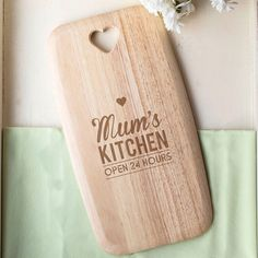 Personalised Colonial Large Chopping Board - Open 24 Hours | GettingPersonal.co.uk