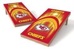 Kansas City Chiefs Single Cornhole Board - Arch