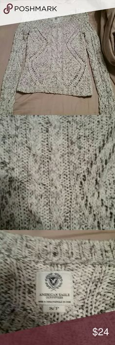 American Eagle sweater Holy sweater American Eagle Outfitters Sweaters Crew & Scoop Necks
