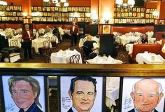 Sardi's Celebrity caricatures line the walls at this iconic Theater District restaurant, where a legendary past is served with a side of Broadway lore--and a damn good martini. 234 W. 44th St. (at Eighth Ave.); 212-221-8440 or sardis.com