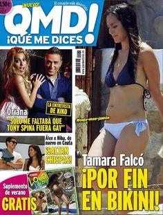revista qmd tamara falco en bikini saltan chispas tony spina es gay vera...