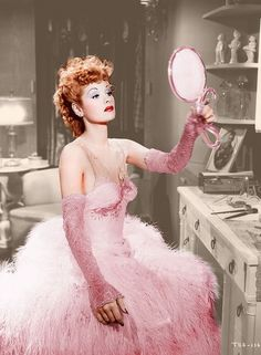 ۩۩ Lucille Ball pretty in pink.Lucille Ball pretty in pink. I Love Lucy, My Love, Lucy Lucy, Lucille Ball, Vintage Hollywood, Hollywood Glamour, Classic Hollywood, Hollywood Stars, Hollywood Icons