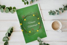 Check out this item in my Etsy shop https://www.etsy.com/uk/listing/559463010/set-of-2-christmas-cards-green-christmas