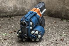If you just want your blaster right away, with minimal effort, get the Nerf Zombie Strike FlipFury. Description from nerfgunattachments.com. I searched for this on bing.com/images