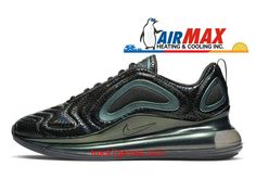 new styles 4bcb1 0c429 Nike Air Max 720 AO2924-003 Chaussures Nike Running Pas Cher Pour Homme  Noir Vert