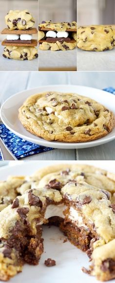 I need this s'more cookie #dessert #cookie #yum #food