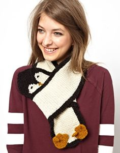 People Tree Penguin Scarf cutest thing ever known to mankind!!