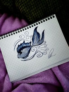 easy fish drawing quick drawings