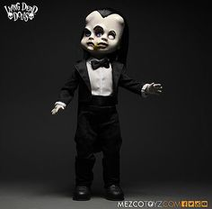 Dynamic Living Dead Dolls Eggeorcist As White Rabbit Collectors Item Alice In Wonderland Dolls & Bears Dolls, Clothing & Accessories