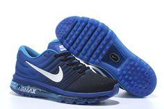 I like this Nike Air Max 2017 Mens Running Shoes Blue cute