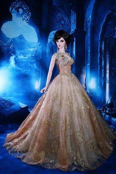 Elegant night. Tonner OOAK Barbie doll. ****