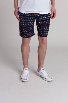 Threads 4 Thought Pineapple Print Clean Front Short